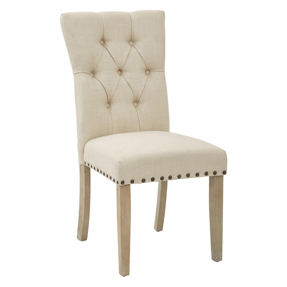 Bassett Furniture Dining Chairs: Inspired By Bassett Preston Dining Chair In Marlow Burlap