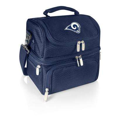 Pranzo Navy Los Angeles Rams Lunch Bag