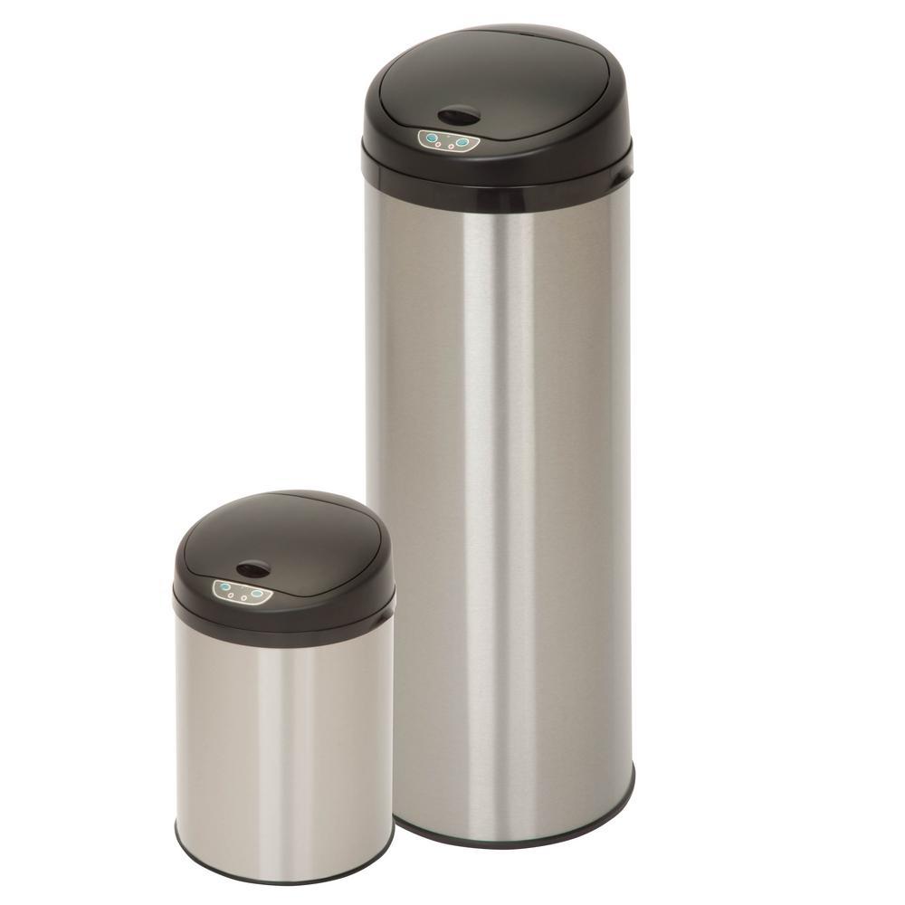 Round Sensor Trashcan Combo