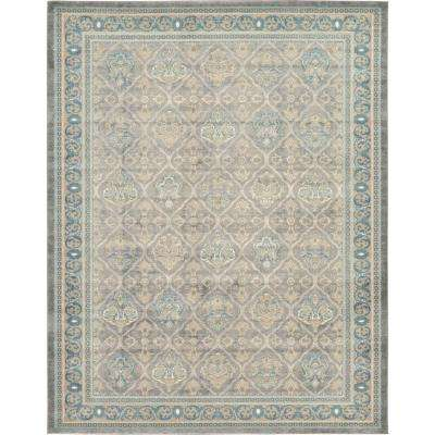 Salzburg Gray 10 ft. x 13 ft. Area Rug