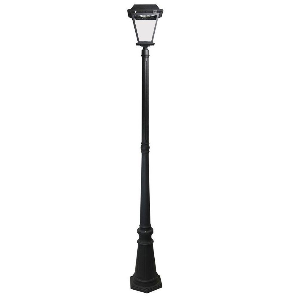 activated street sensor motion m pir light lamp with post solar