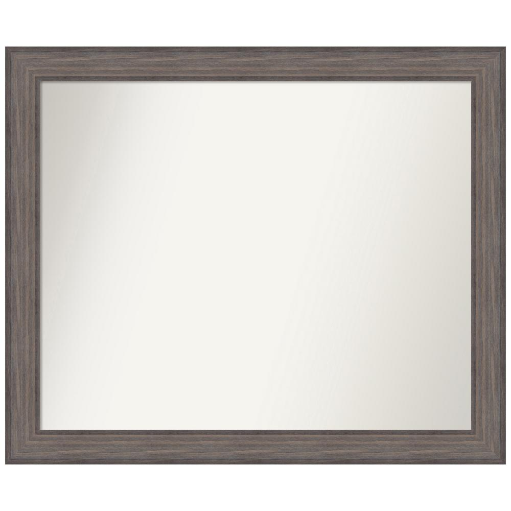 Amanti Art Choose Your Custom Size 42.25 in. x 35.25 in. Country Barnwood Decorative Wall Mirror was $559.95 now $274.93 (51.0% off)