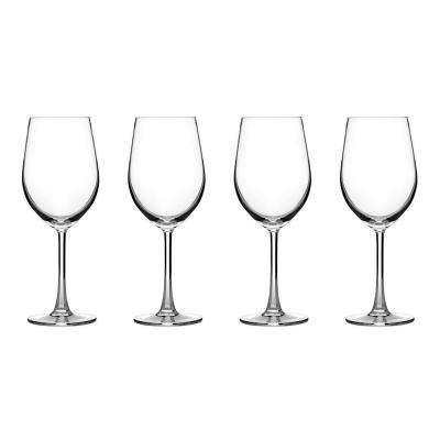 Advantage Glassware Essentials Collection Wine Glasses in White (Set of 4)