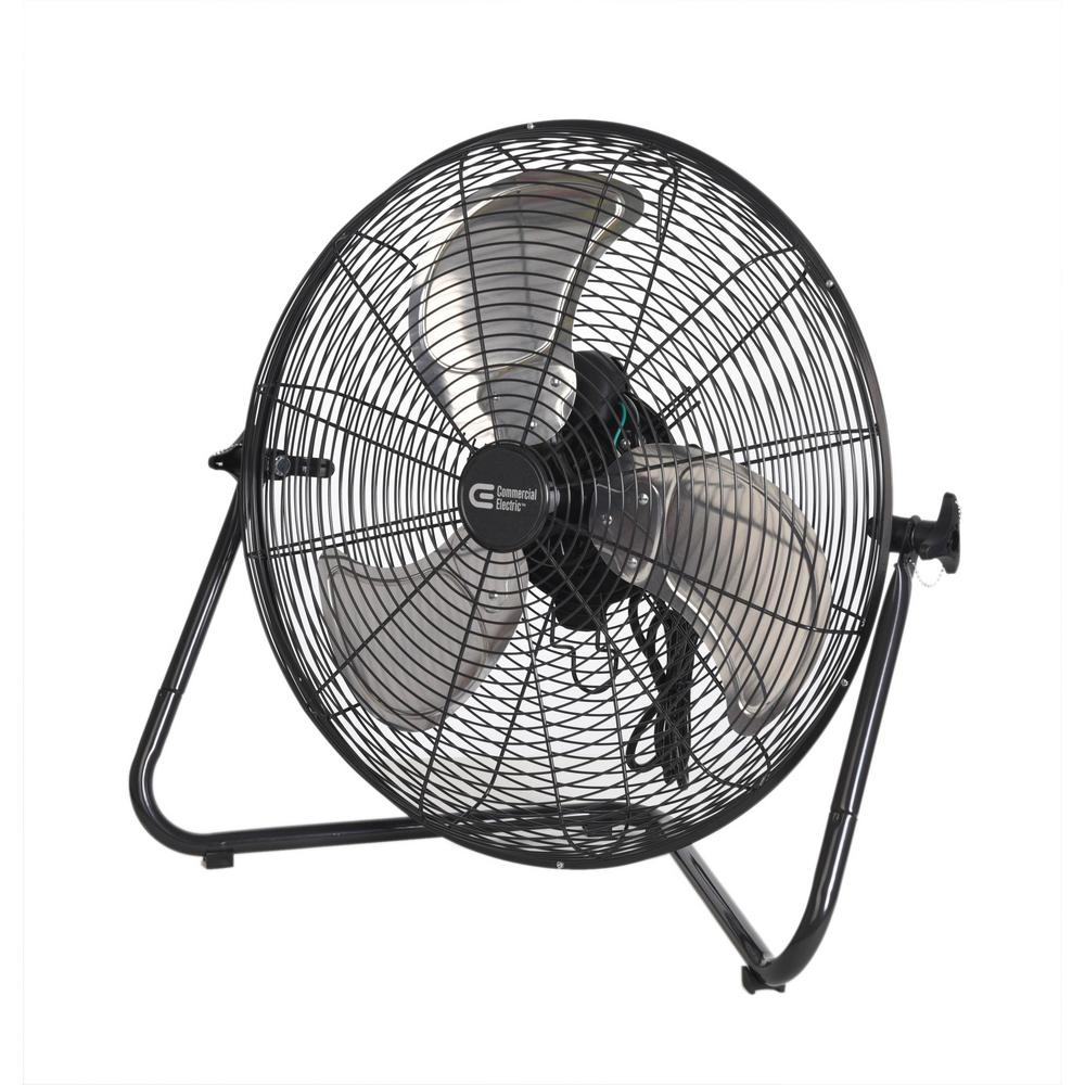 Commercial Electric 20 In 3 Speed High Velocity Floor Fan Sfc1