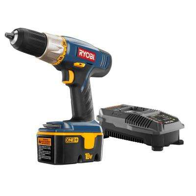 18-Volt ONE+ Ni-Cad 1/2 in. Cordless Drill/Driver Kit