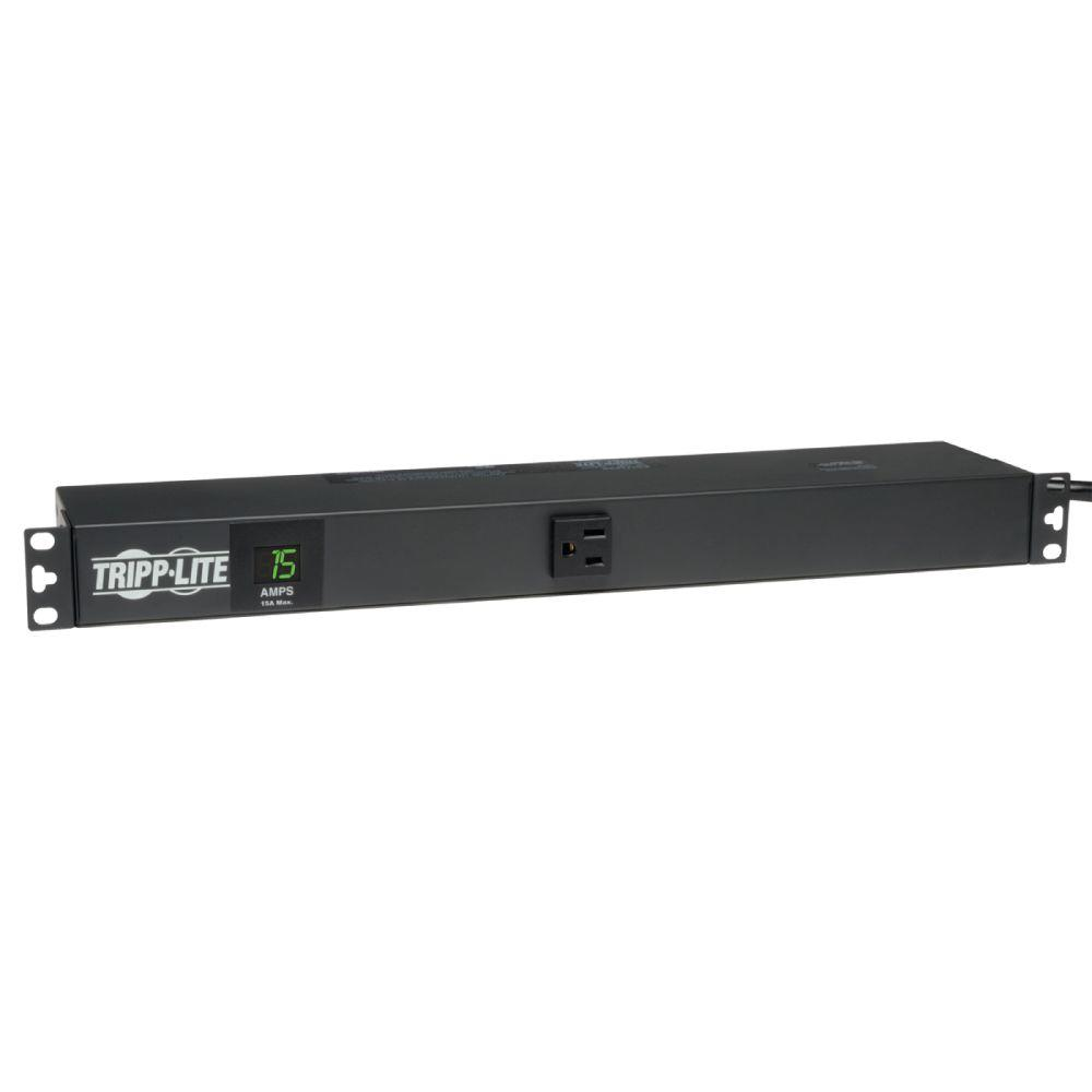 PDU Metered 120-Volt / 15-Amp 5-15R 13 Outlet 5-15P Horizontal 1URM