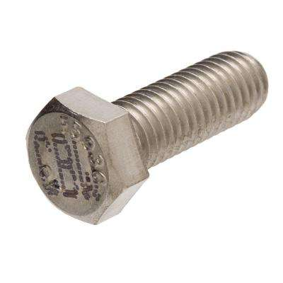 1/4 in. x 3/4 in. Stainless-Steel Hex Bolt (25-Pack)