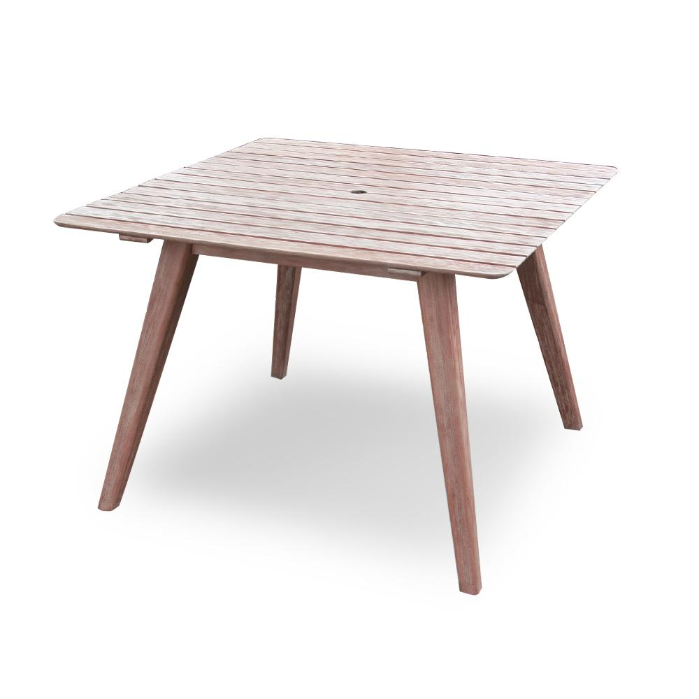 Cambridge Casual Lorca Square Wood Outdoor Dining Table