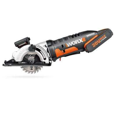 Worxsaw 20-Volt 3-3/8 in. Compact Circular Saw