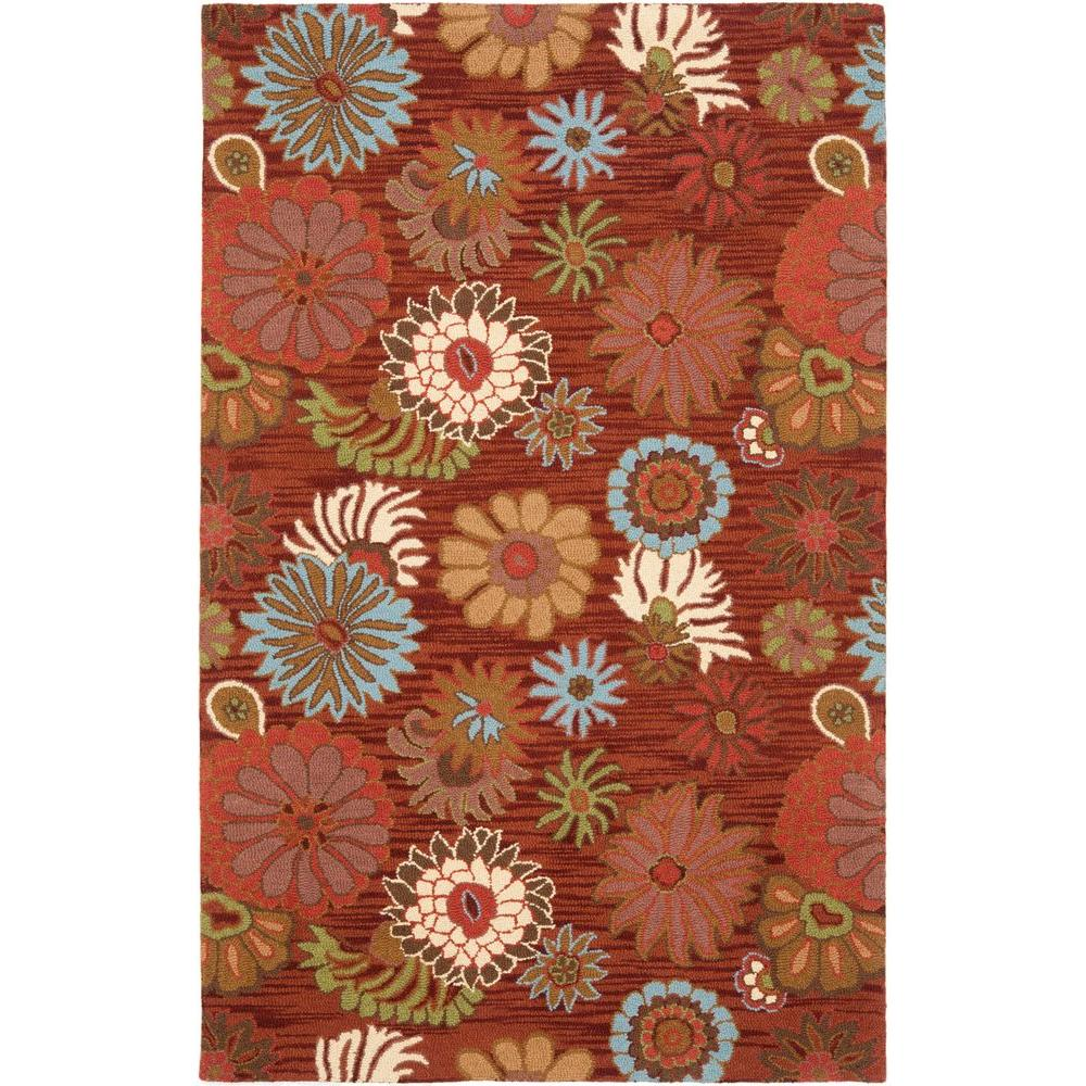 Safavieh Blossom Red/Multi 8 ft. 9 in. x 12 ft. Area Rug