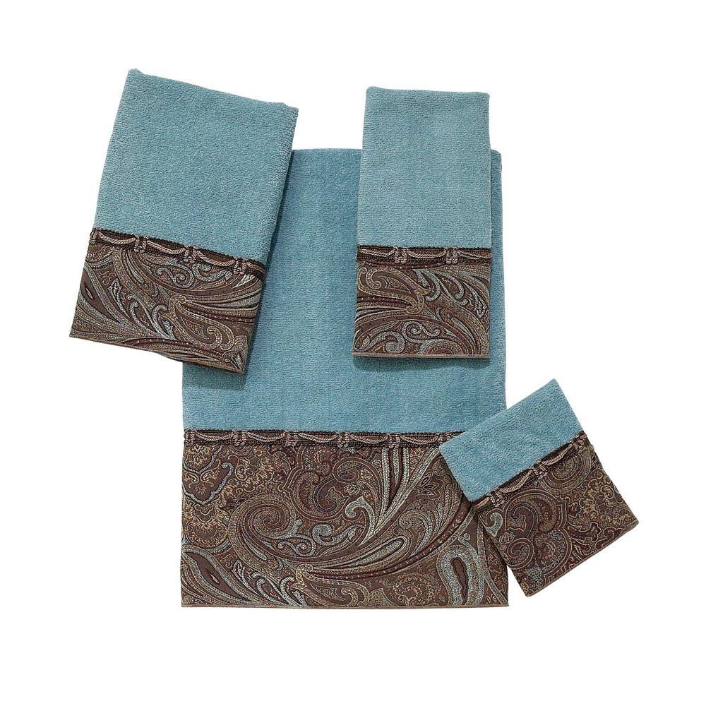 Bradford 4-Piece Bath Towel Set in Mineral