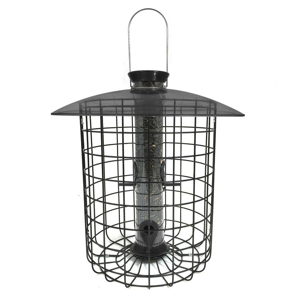Droll Yankee 15 in. Sunflower Squirrel-Proof Domed Cage B...
