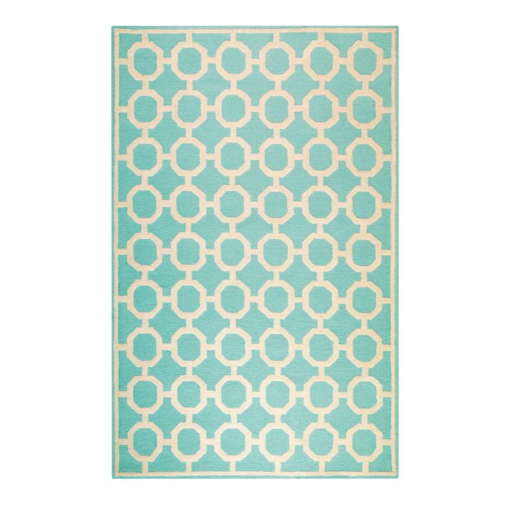 Home decorators collection kenilworth blue 2 ft x 3 ft for Home decorators rugs blue