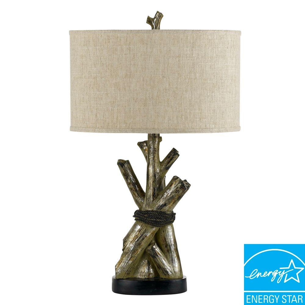 CAL Lighting 28.25 in. Tree Trunks Table Lamp-DISCONTINUED