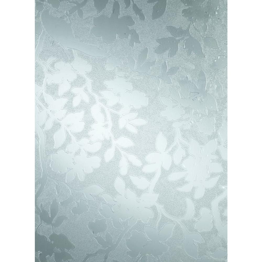 Spring 26 in. x 59 in. Home Decor Static Cling Window