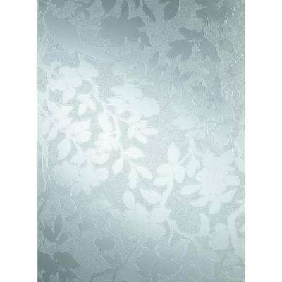 Spring 26 in. x 59 in. Home Decor Static Cling Window Film