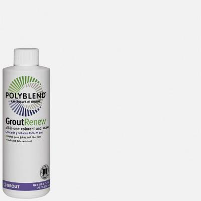 Polyblend #640 Arctic White 8 oz. Grout Renew Colorant