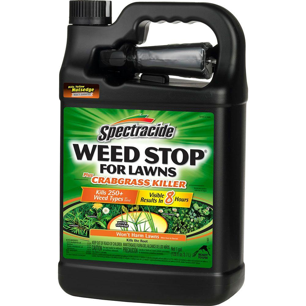 Spectracide Weed Stop 1 Gal Ready To Use Plus Crabgrass Killer Sprayer