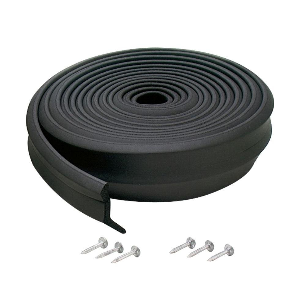 garage doors at home depotMD Building Products 2 in x 9 ft Rubber Replacement for Garage