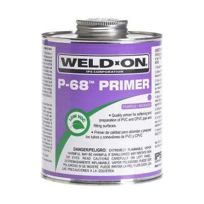 32 oz. PVC P68 NSF/UPC Primer in Purple