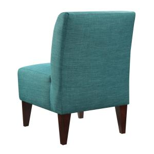Brilliant North Accent Slipper Teal Side Chair Usc087100Ca The Home Lamtechconsult Wood Chair Design Ideas Lamtechconsultcom