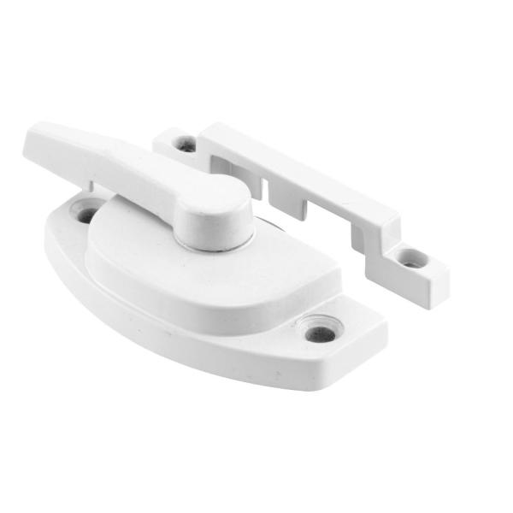 Diecast Construction White Used on Vertical and Horizontal Sliding Windows Sash Lock