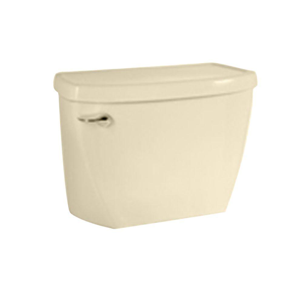 American Standard Pressure-Assisted 1.1 GPF Toilet Tank Only in Bone