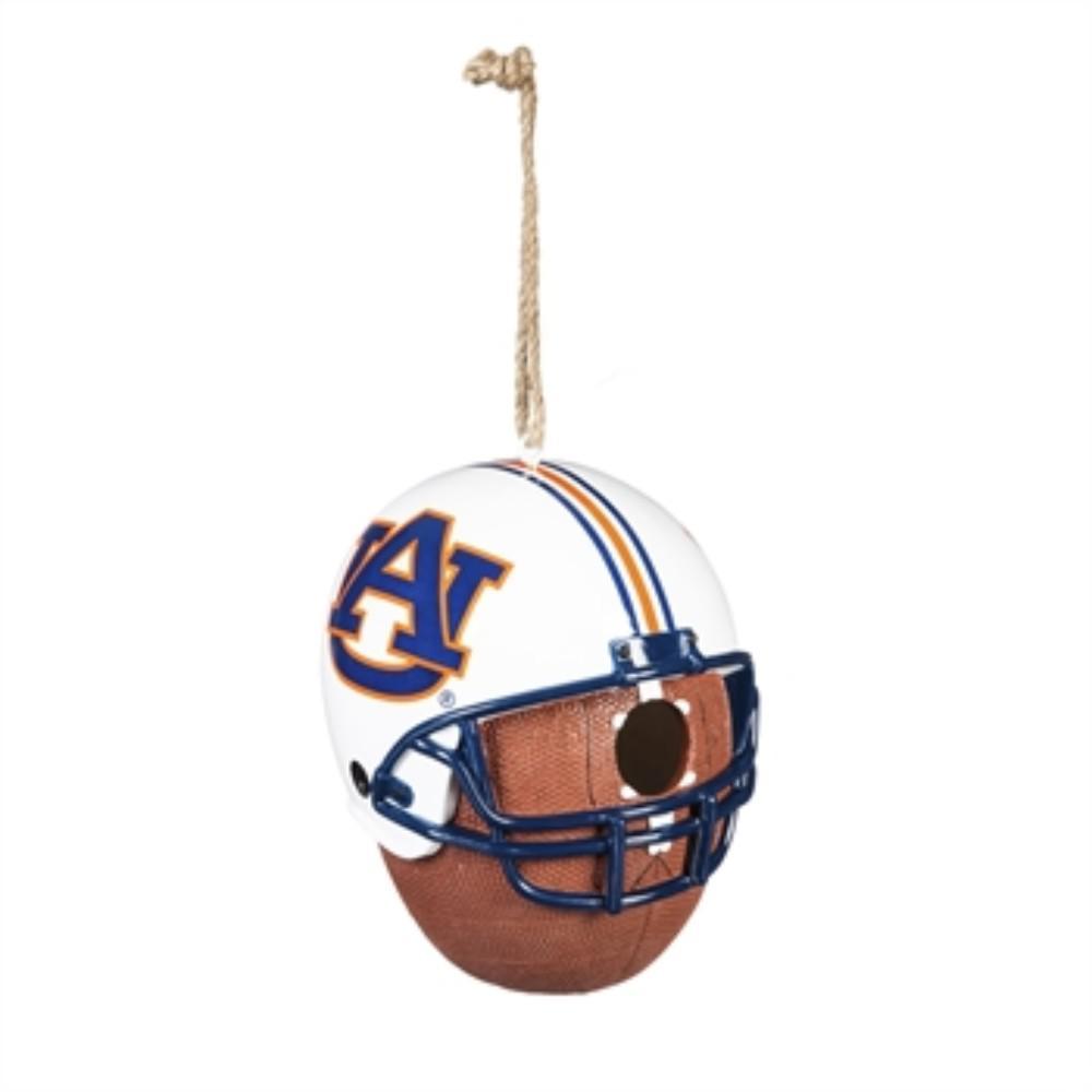 Auburn University 6.5 in. x 7.5 in. x 8 in. Polystone Hat/Helmet Ball Birdhouse