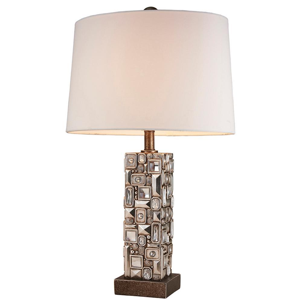 28 in. Sierra Silver Table Lamp