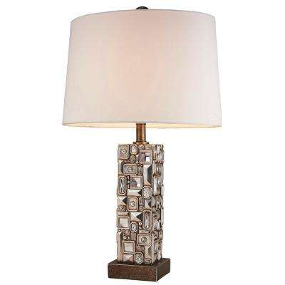 28 in. Sierra Silver Table Lamp