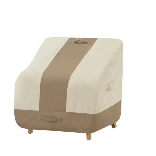 Hampton Bay High Back Outdoor Patio Chair Cover 517938 C The Home Depot