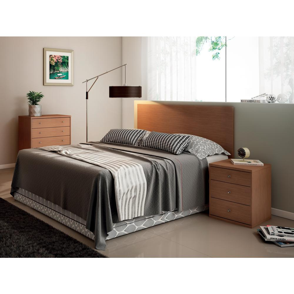 Manhattan Comfort Maple Cream 2 Piece Astor 2 0 Bedroom Dresser And Nightstand Set 2 60872151