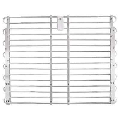 30 - 33 in. x 60 - 66 in. Adjustable Aluminum Window Well Grate