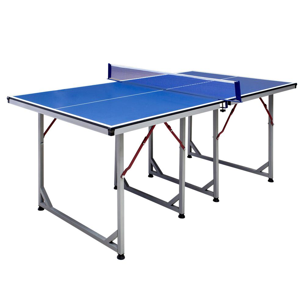 Hathaway Reflex Mid Sized 6 Ft Table Tennis Table Bg2315p
