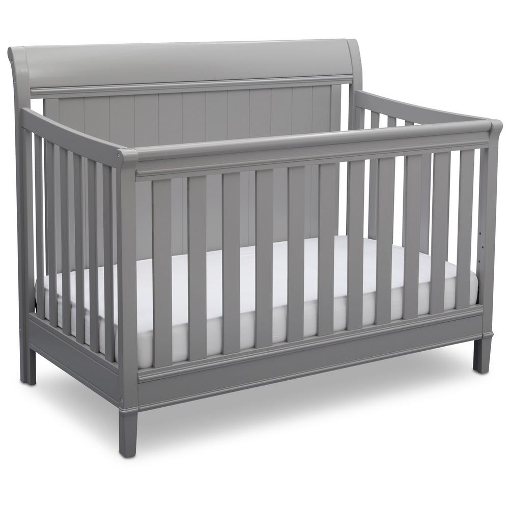 New Haven 4-in-1 Grey Convertible Crib