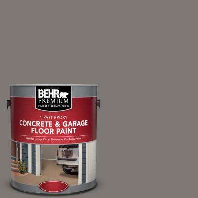 1 gal. #PFC-74 Tarnished Silver 1-Part Epoxy Satin Interior/Exterior Concrete and Garage Floor Paint