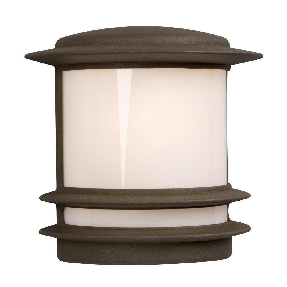 Filament Design Negron 1-Light Outdoor Black Wall Sconce