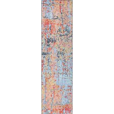 Harper Multi-Color 2 ft. 3 in. x 7 ft. 6 in. Runner Rug