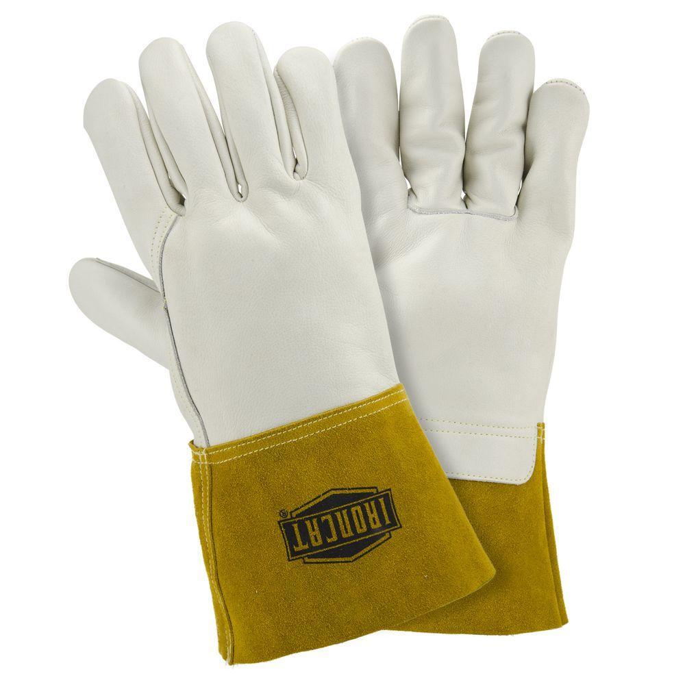 Ironcat X-Large Heavyweight Top Grain Cowhide MIG Welding Gloves