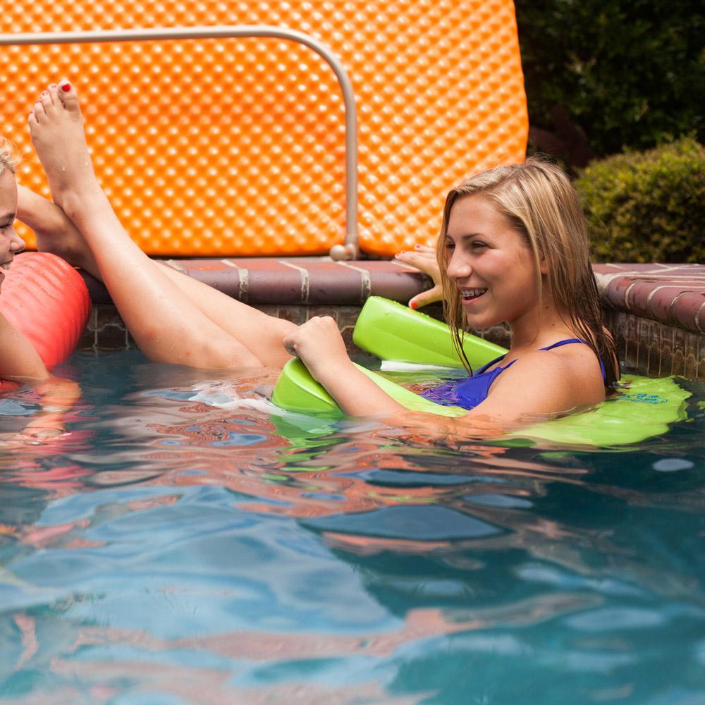 Aqua Swing Foam Lime Pool Float