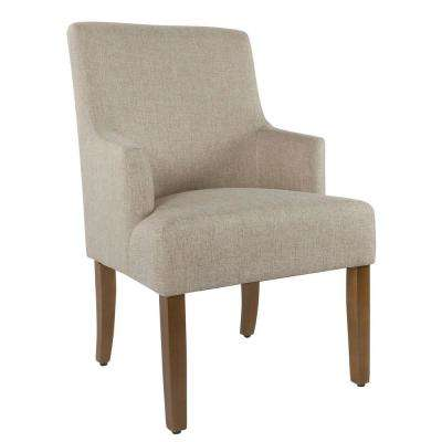 Meredith Crosshatch Sandstone Dining Chair