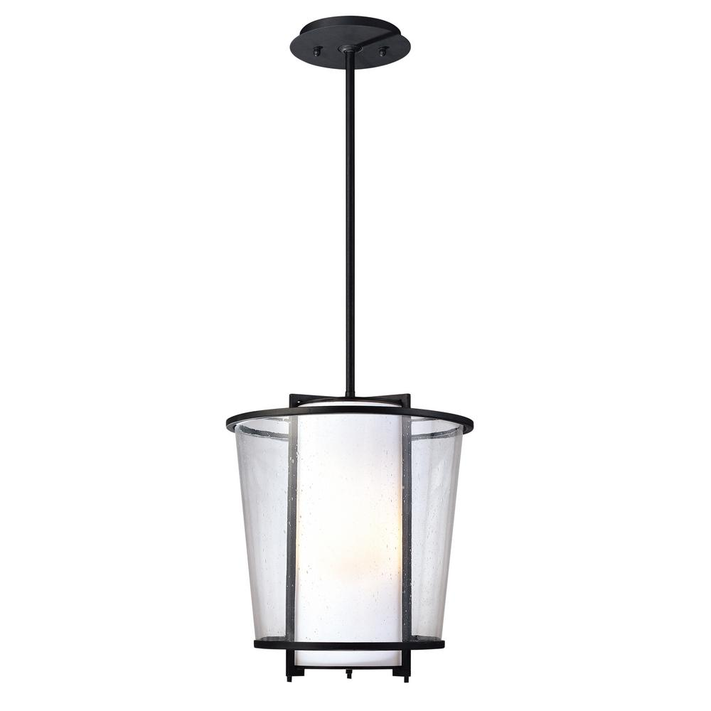 Bennington 3-Light Forged Bronze Outdoor Pendant