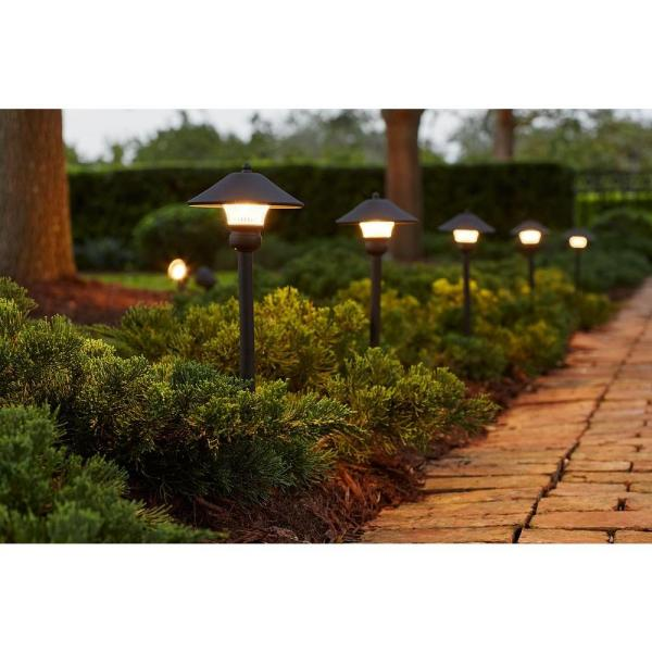 Bronze Outdoor Integrated Led Landscape