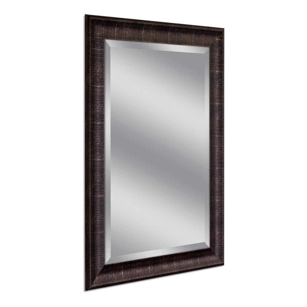 Deco Mirror Soho 31 In W X 43 H Framed Wall Copper 8085 The Home Depot