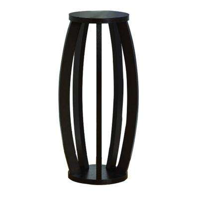 Brown Modern Plant Stand with Curve Legs