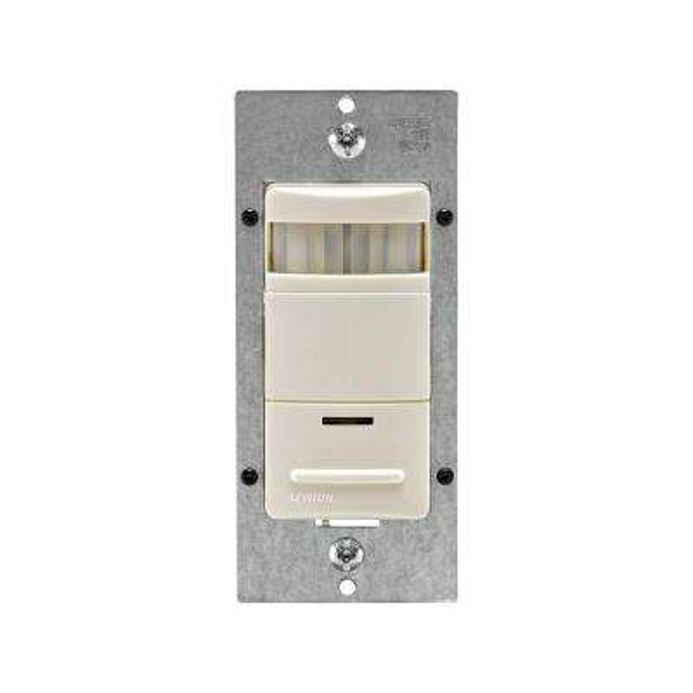 Decora Passive Infrared Occupancy Sensor with LED Adjustable Night Light, Light Almond
