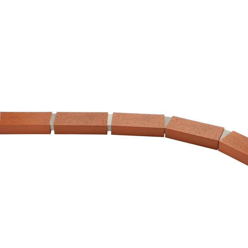 Argee 25 Ft Decorative Plastic Brick Edging Rg825 The