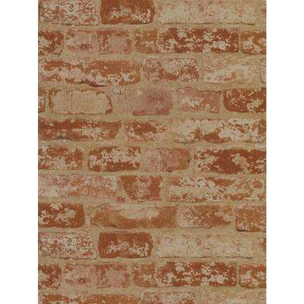 Stuccoed Brick Wallpaper