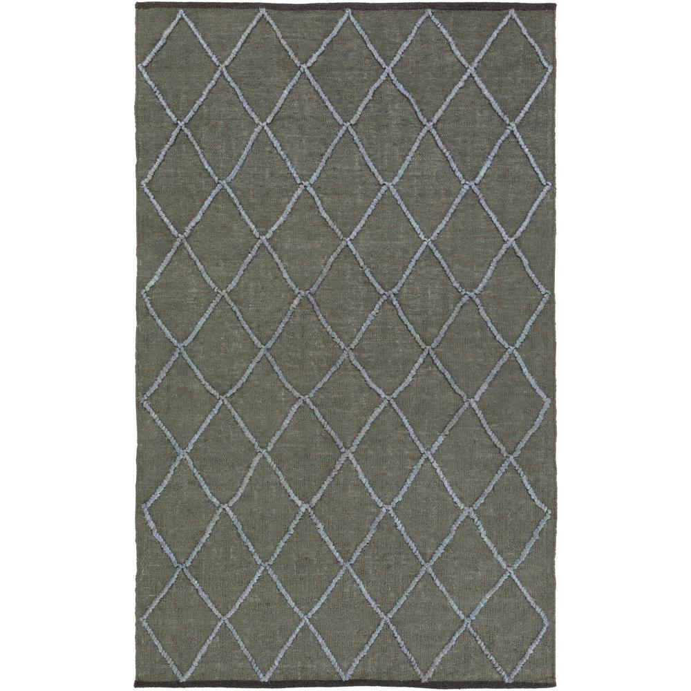 Grigory Dark Green 8 ft. x 10 ft. Area Rug
