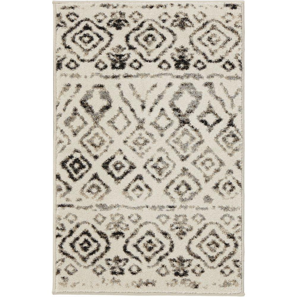 Home Decorators Collection Tribal Essence Ivory 2 Ft X 3 Scatter Area Rug 25221